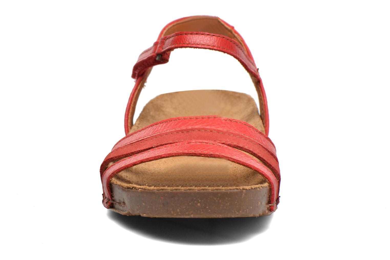 Sandales et nu-pieds Art I Breathe 998 Rouge vue portées chaussures