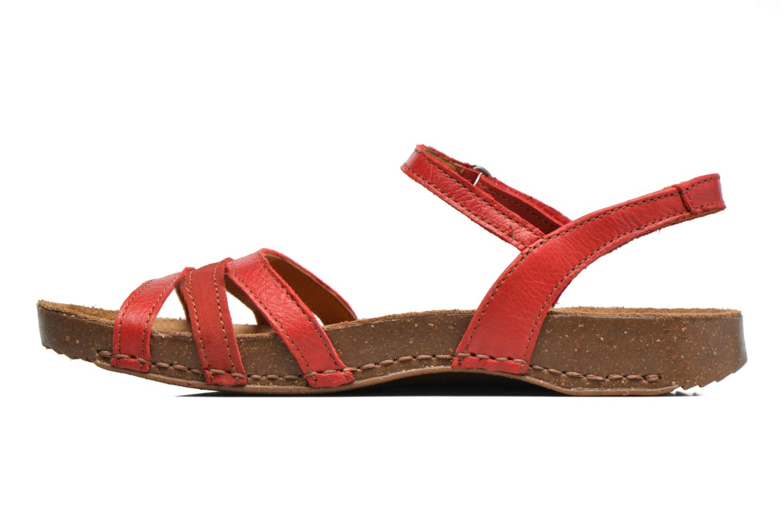 Sandalen Art I Breathe 998 rot ansicht von vorne