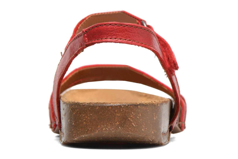 Sandalen Art I Breathe 998 rot ansicht von rechts