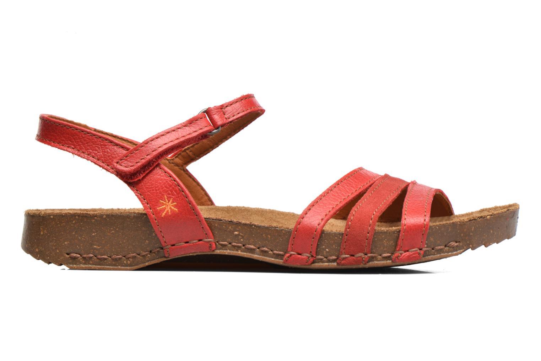 Sandales et nu-pieds Art I Breathe 998 Rouge vue derrière