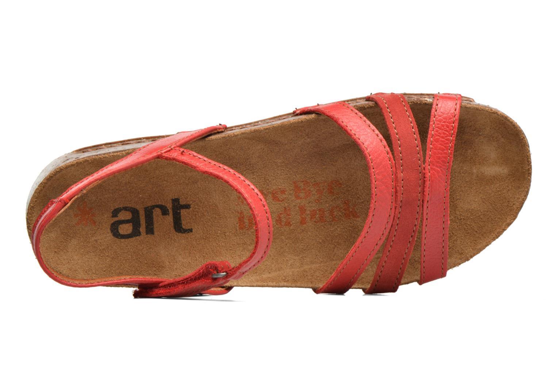Sandalen Art I Breathe 998 rot ansicht von links