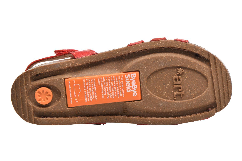 Sandalen Art I Breathe 998 rot ansicht von oben