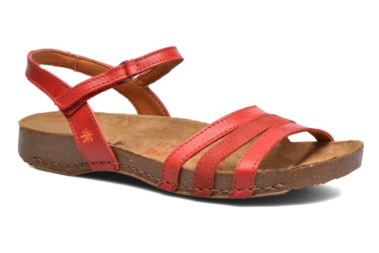 Sandales et nu-pieds Art I Breathe 998 Rouge vue détail/paire