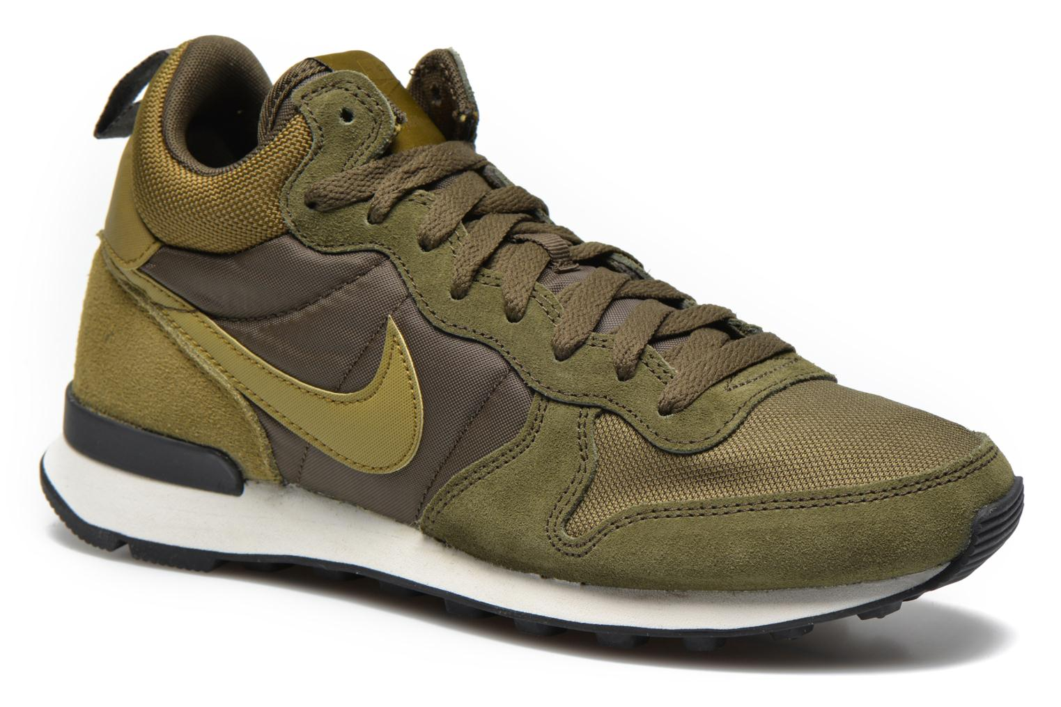 nike internationalist mid dames groen