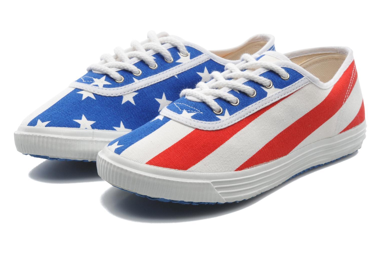 Baskets Startas Pop America Multicolore vue 3/4