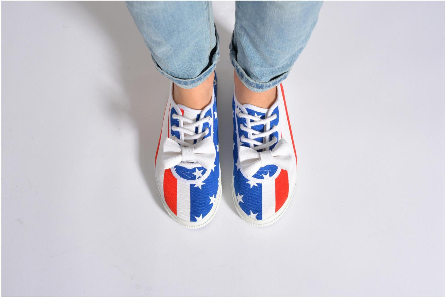 Trainers Startas Pop America Multicolor view from underneath / model view