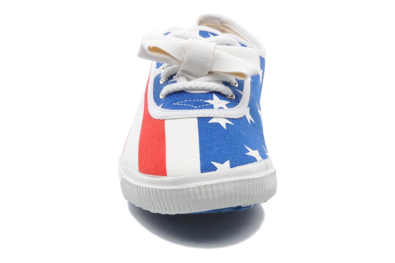 Baskets Startas Pop America Multicolore vue portées chaussures