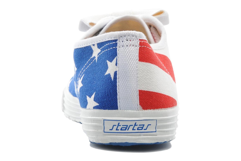 Baskets Startas Pop America Multicolore vue droite