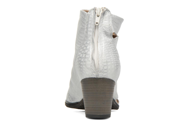 Boots en enkellaarsjes Dkode Vayle Zilver rechts