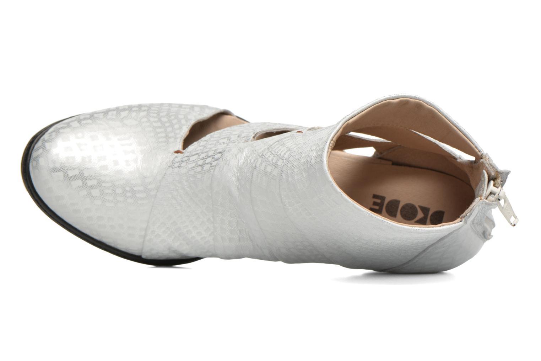 Boots en enkellaarsjes Dkode Vayle Zilver links