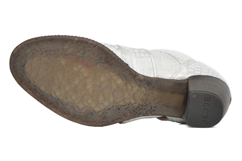 Bottines et boots Dkode Vayle Argent vue haut