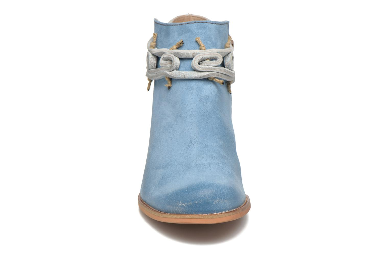Bottines et boots Dkode Barak Bleu vue portées chaussures