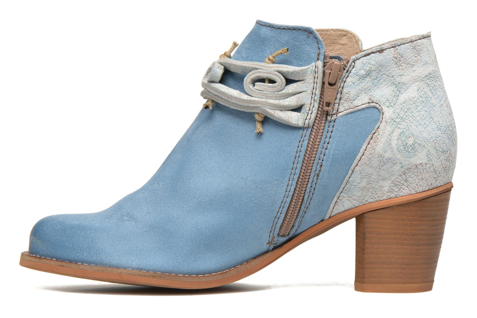 Ankle boots Dkode Barak Blue front view
