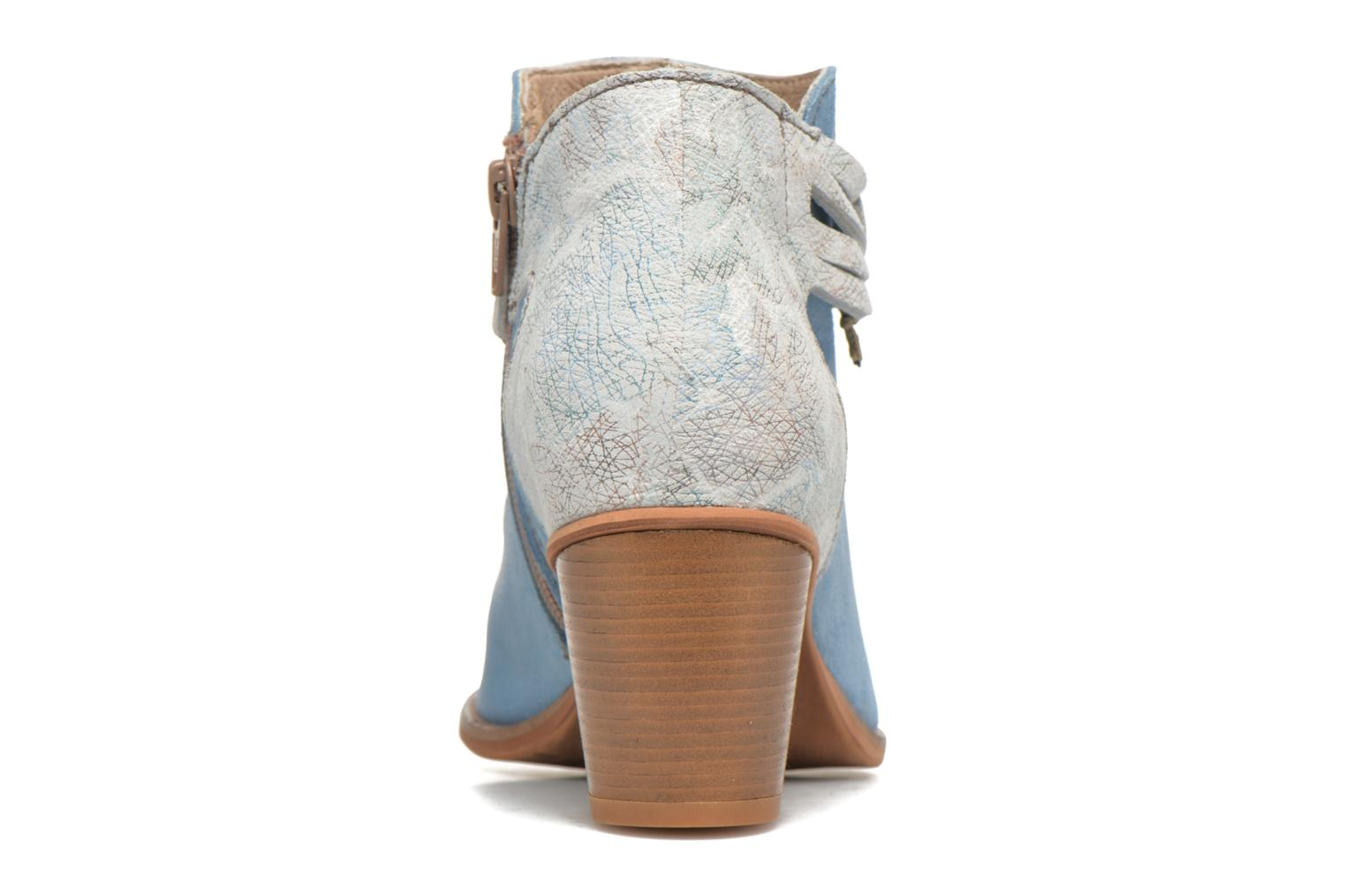 Ankle boots Dkode Barak Blue view from the right