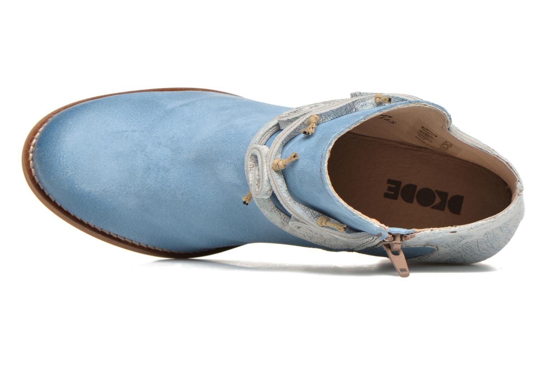 Stiefeletten & Boots Dkode Barak blau ansicht von links