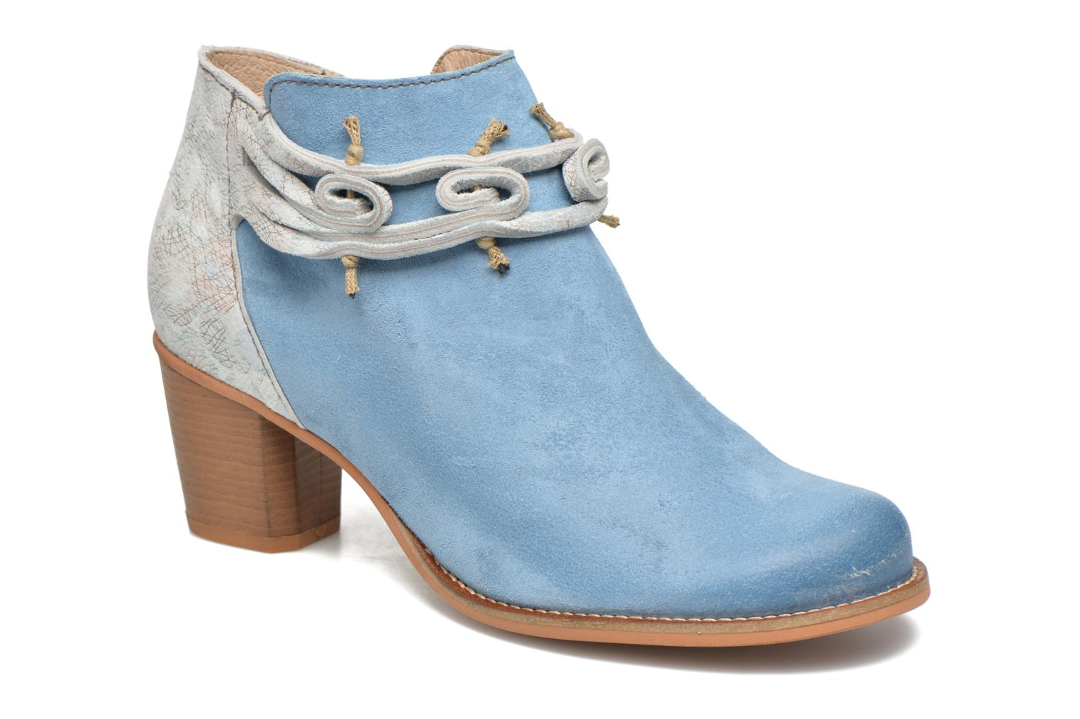 Ankle boots Dkode Barak Blue detailed view/ Pair view