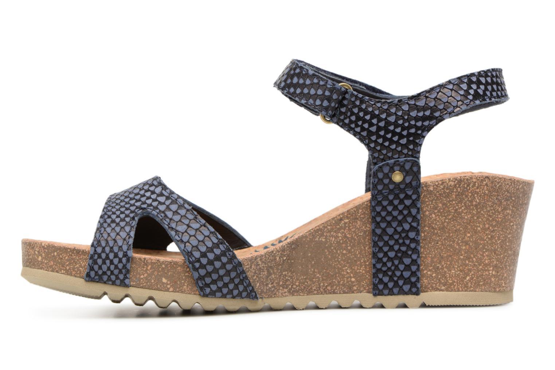 Sandaler Panama Jack Julia Blå bild från framsidan