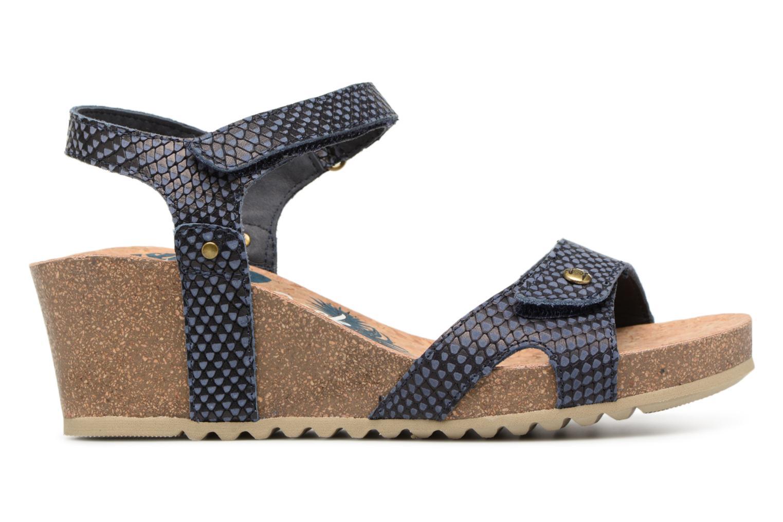 Sandaler Panama Jack Julia Blå bild från baksidan