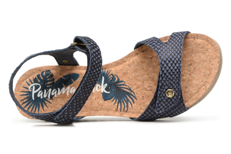 Sandaler Panama Jack Julia Blå bild från vänster sidan