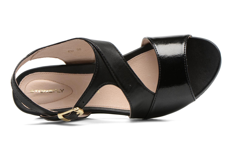 Sandales et nu-pieds Stonefly Sweet II 21 Noir vue gauche