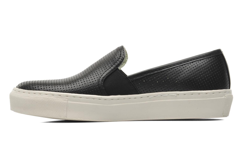 Sneaker Bronx Cargo schwarz ansicht von vorne
