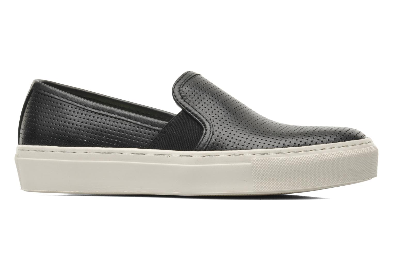 Sneaker Bronx Cargo schwarz ansicht von hinten