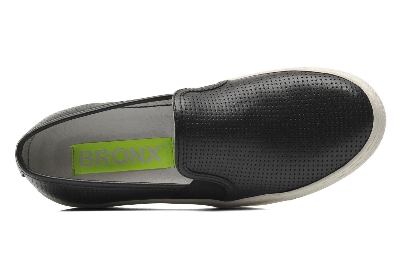 Sneaker Bronx Cargo schwarz ansicht von links