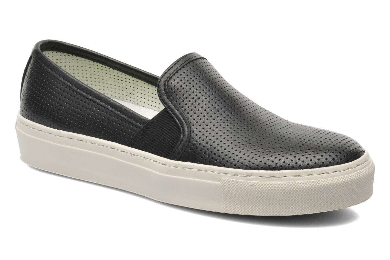 Sneakers Bronx Cargo Zwart detail