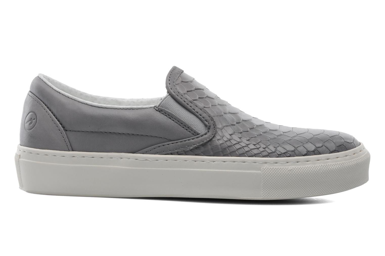 Sneaker Bronx Cherry grau ansicht von hinten