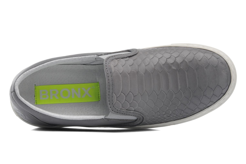 Sneaker Bronx Cherry grau ansicht von links