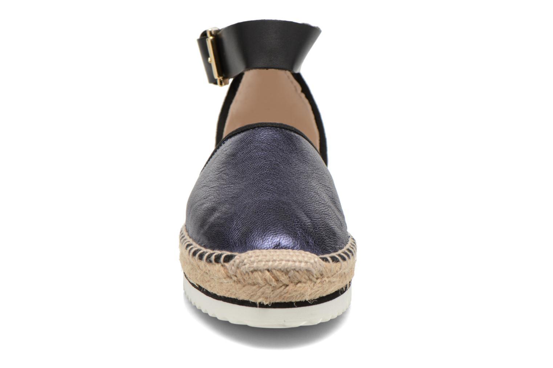 Sandales et nu-pieds Anaki Chica Bleu vue portées chaussures