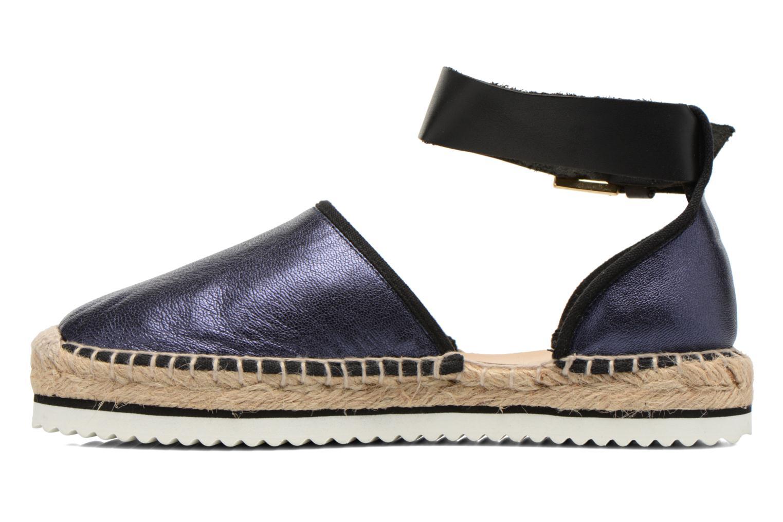 Sandales et nu-pieds Anaki Chica Bleu vue face