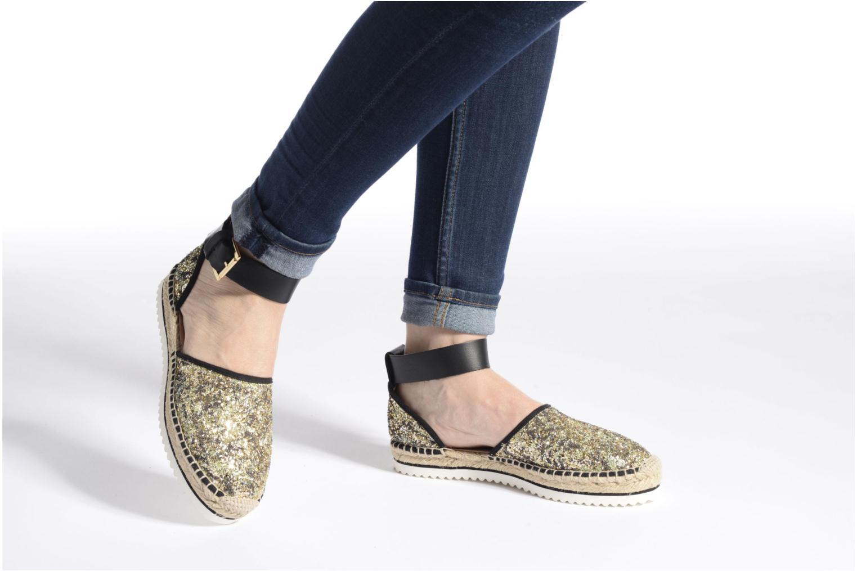 Sandales et nu-pieds Anaki Chica Bleu vue bas / vue portée sac