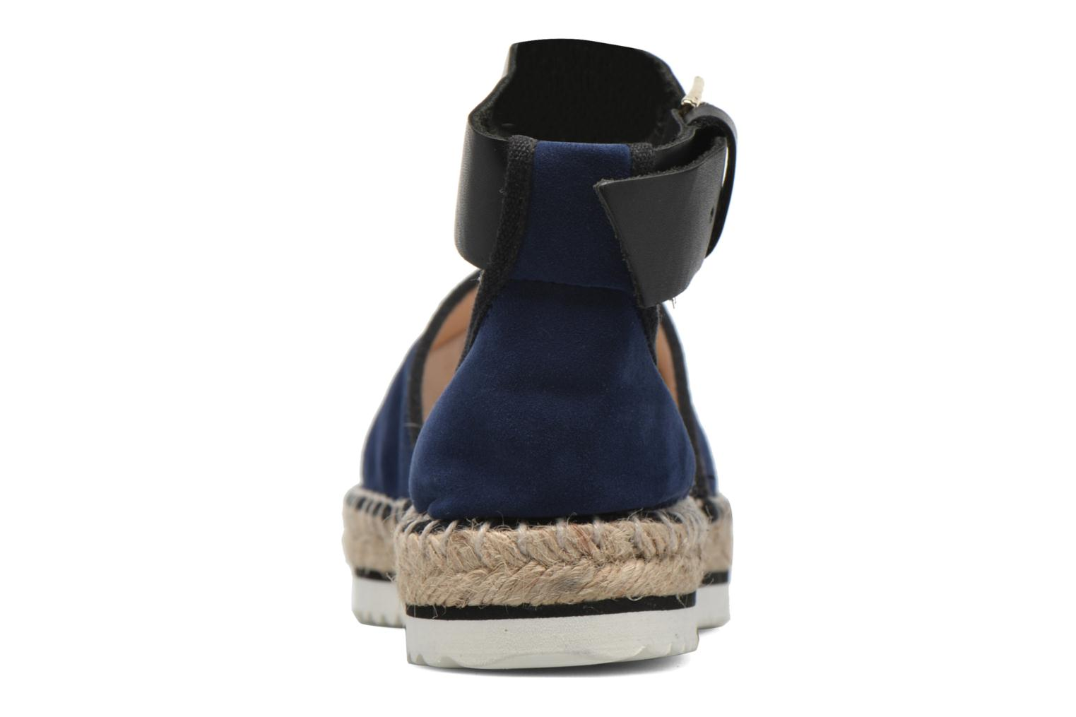Sandals Anaki Chica Blue view from the right