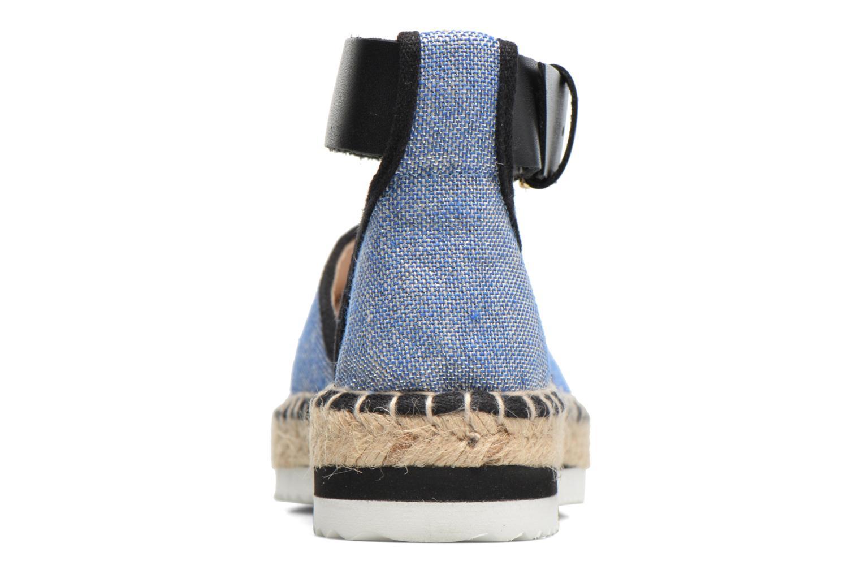 Sandalen Anaki Chica Blauw rechts