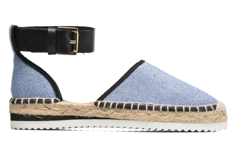 Sandaler Anaki Chica Blå se bagfra