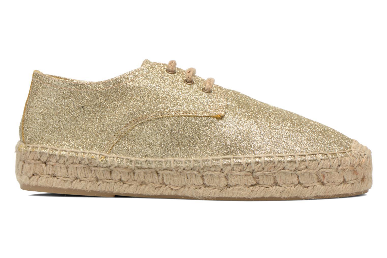 Snörade skor Anaki Sable Bronze och Guld bild från baksidan