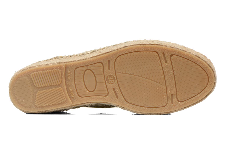 Snörade skor Anaki Sable Bronze och Guld bild från ovan
