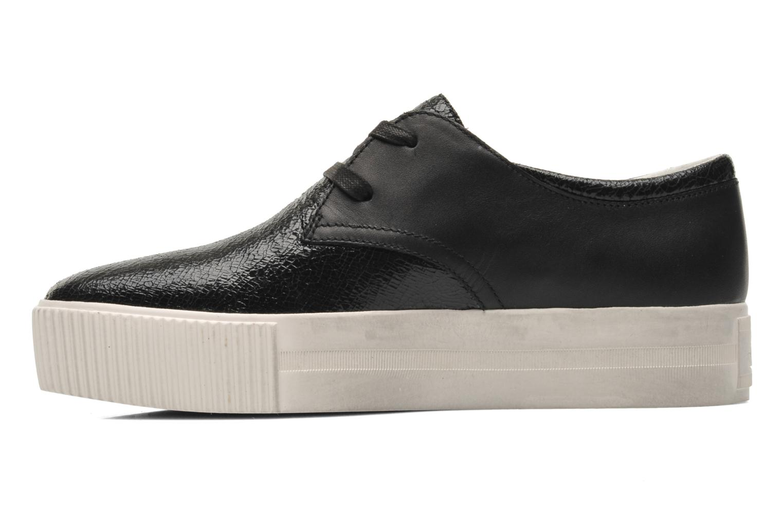 Chaussures à lacets Ash Keanu Noir vue face