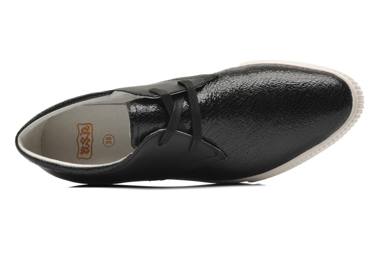 Chaussures à lacets Ash Keanu Noir vue gauche
