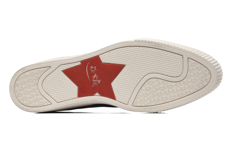 Chaussures à lacets Ash Keanu Noir vue haut