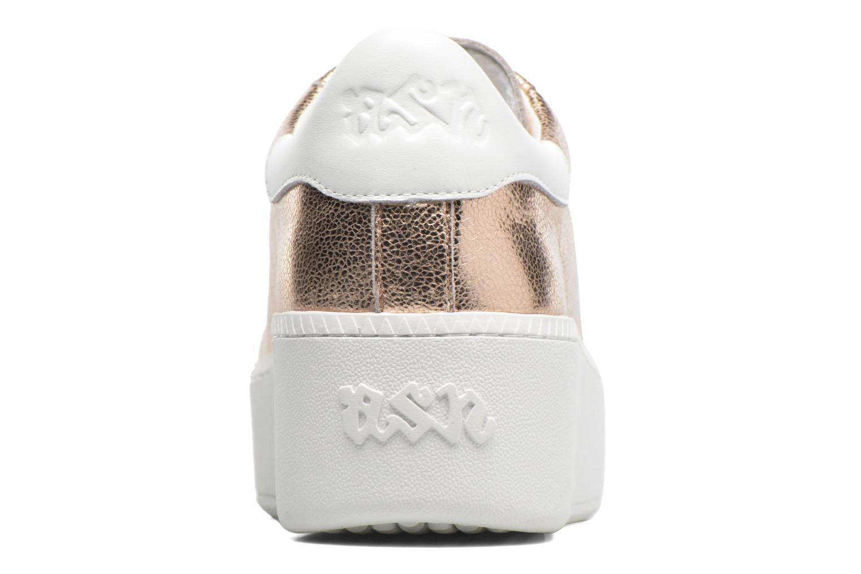 Sneaker Ash Cult gold/bronze ansicht von rechts