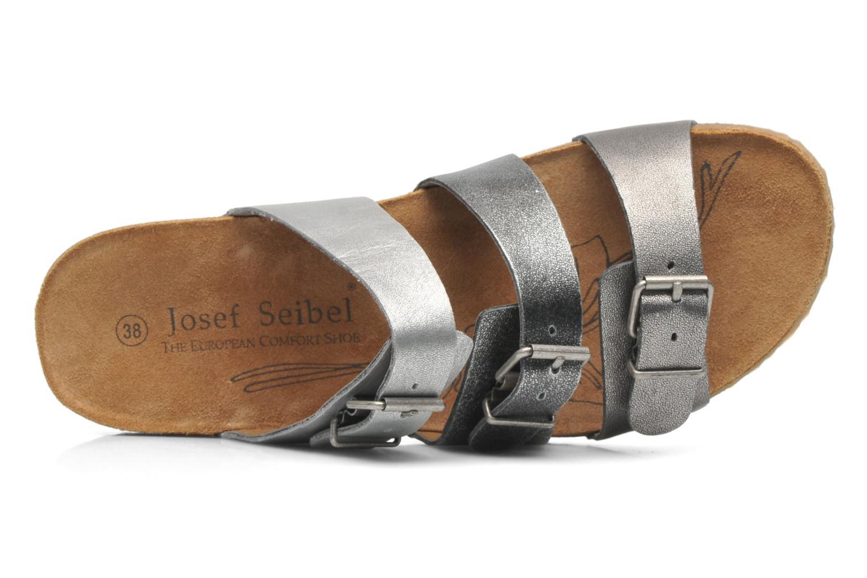 Mules et sabots Josef Seibel Tonga 21 Argent vue gauche