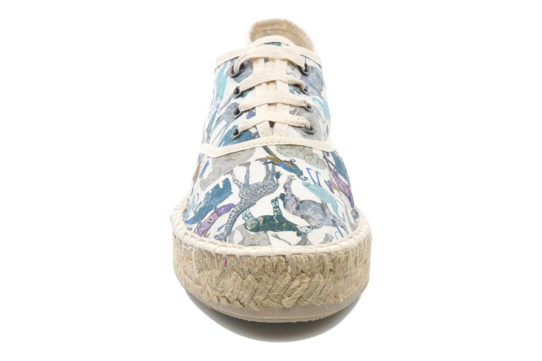 Lace-up shoes Pare Gabia Ictum Toile Multicolor model view