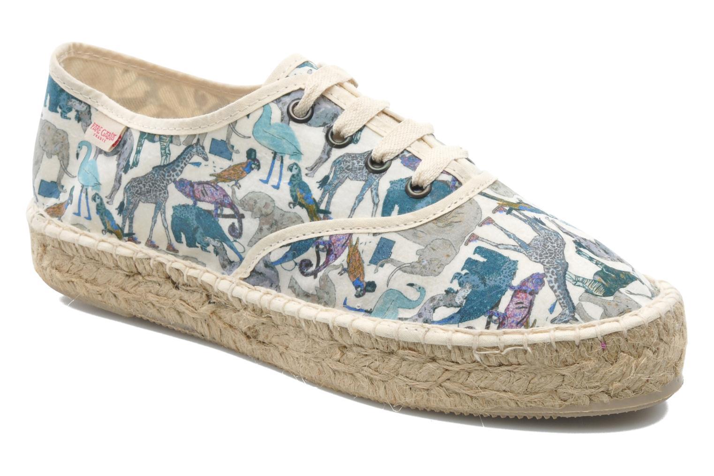 Lace-up shoes Pare Gabia Ictum Toile Multicolor detailed view/ Pair view