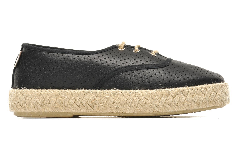 Lace-up shoes Pare Gabia Lotus cuir Black back view