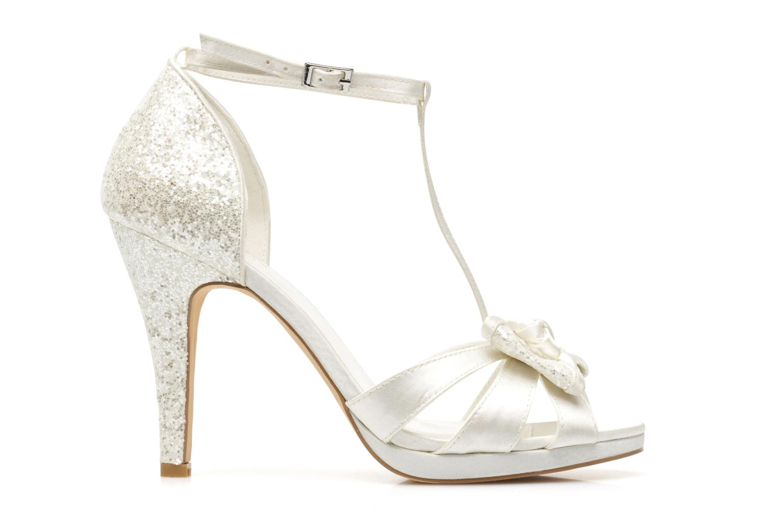 Sandals Menbur Betoine White back view