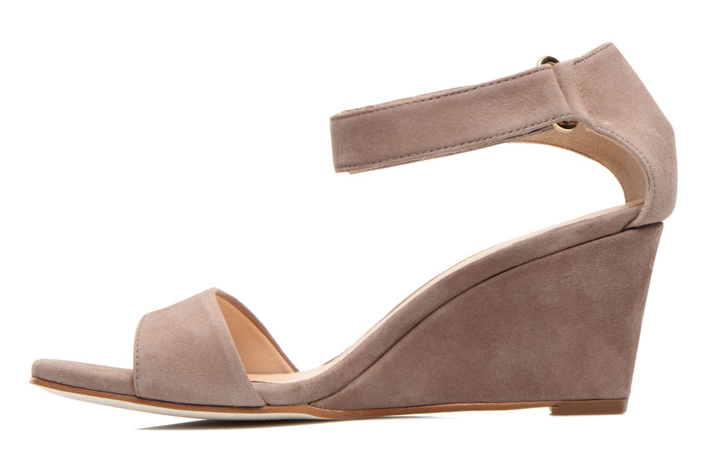 Sandals Unisa Dulcea Beige front view