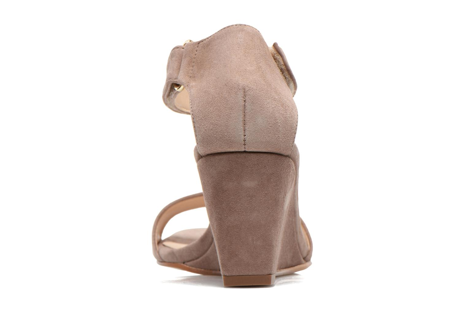 Sandals Unisa Dulcea Beige view from the right