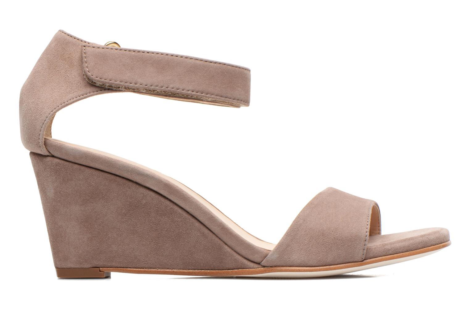 Sandals Unisa Dulcea Beige back view